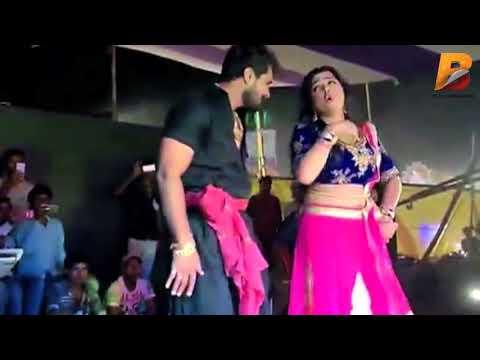 #Khesari Lal Yadav और Amarpali Dubey के Live Dance से पब्लिक हुई पागल - Marad Hamar Baccha Ba