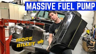 INSTALLING A 1000HP FUEL System In The Rolls Royce *Project Rolls Smoke*