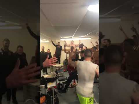 Chorley celebrated beating Wigan in the FA Cup with Adele Songs in the changing room