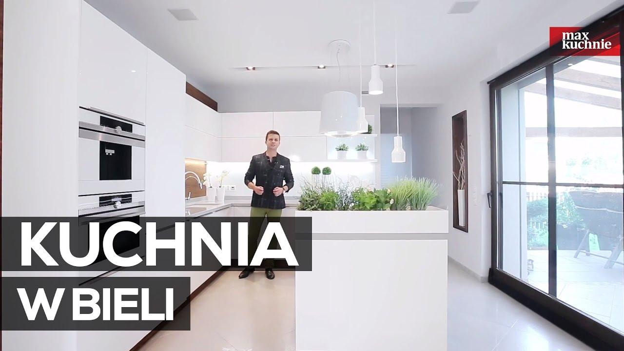 Kuchnia W Bieli Studio Max Kuchnie Vigo Bielsko Biała