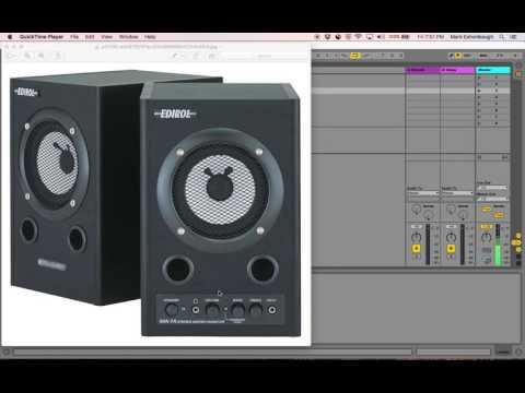 Edirol Monitor Speakers