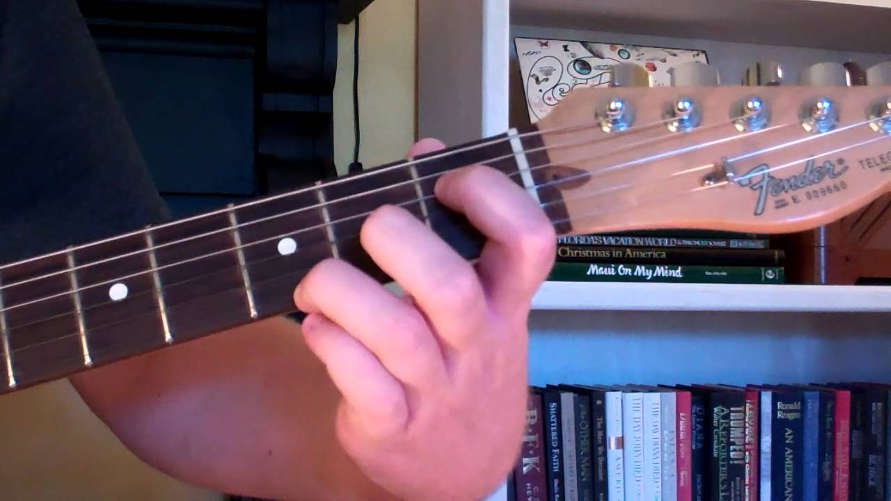 How To Play The B75 Chord On Guitar B 7th Augmented 5th Youtube