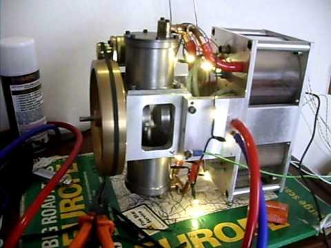 Stirling engine generator low temperature
