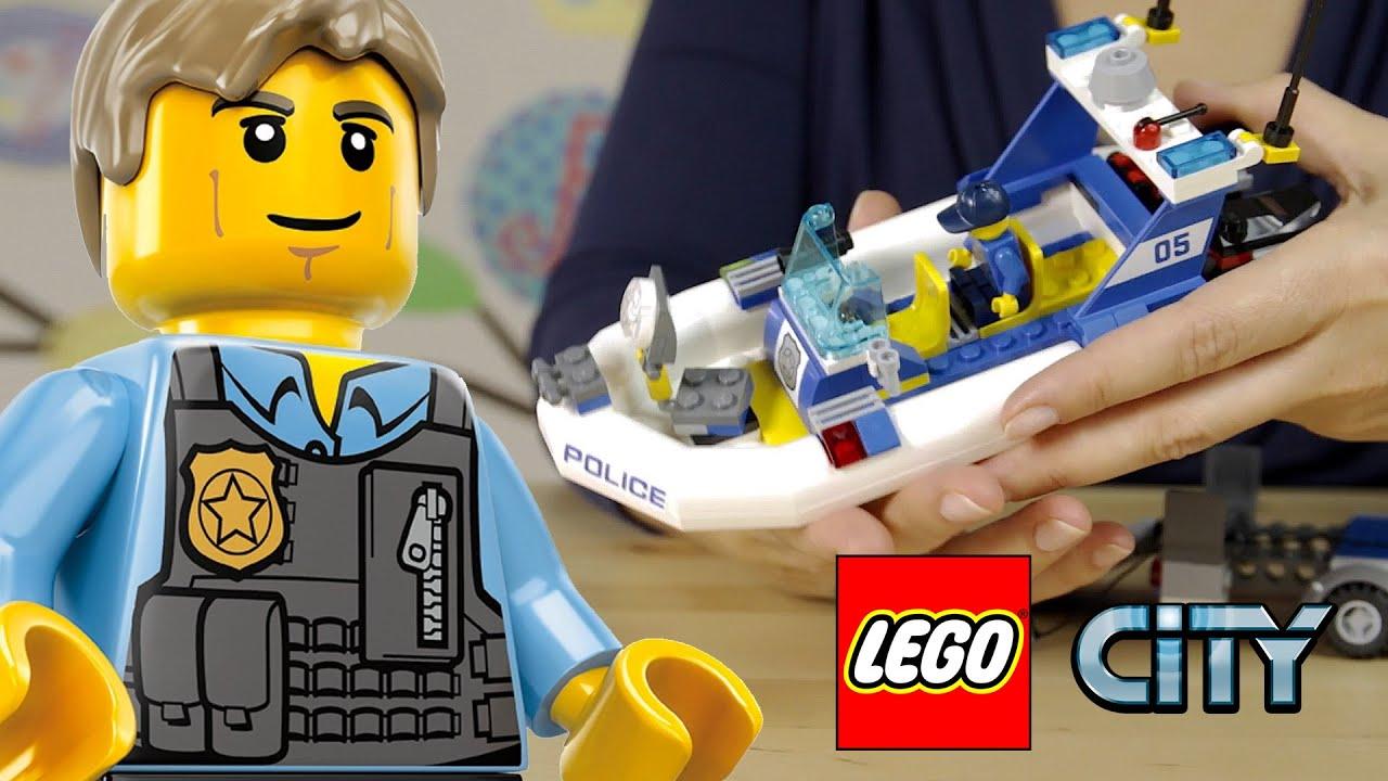 Lego City Patrol Policyjny 60045 Youtube