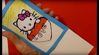 ЧТО ПОДАРИТЬ МАМЕ ДЕНЬ РОЖДЕНИЯ? Сделать Маме Поделку Валентинка Открытка Фокус Своими Руками.