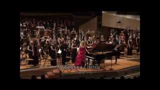 Rachmaninoff Rhapsody on theme of Paganini Lisitsa Baltic Youth Philharmonic Berlin Philharmonie