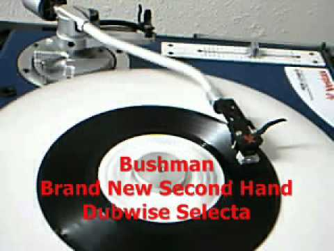 Bushman - Brand New Second Hand / Peter Tosh Tribute!!  Dubwise Selecta