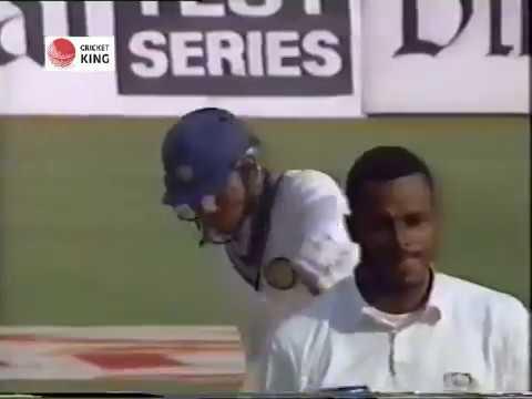 Manoj Prabharkar & Sanjay Manjrekar 103 runs 2nd wic stand against West Indies 3rd Test  Mohali 1994