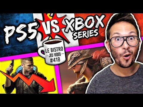PS5 vs Xbox Series les chiffres France ⚡️ Cyberpunk 2077 remboursé ⚠️ Elden Ring bientôt montré ?
