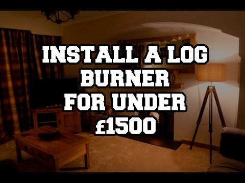 Install Log Burner For Under