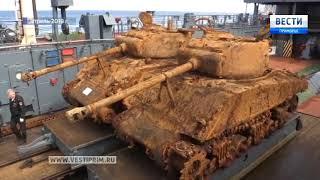 Специалисты центральной базы хранения бронетанковой техники полностью восстановили танк «Шерман»