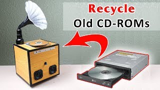 How to Turn old CD-ROMs into Vintage Speaker Player