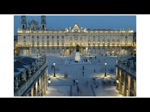 Nancy - the capital of the north-eastern French department of Meurthe-et-Moselle