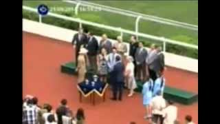 The Magic Man  ~Joao Moriera ~ A Great Jockey and Magic Kisser too Thumbnail