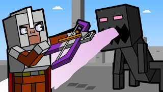 Defeating The Heart of Ender | Minecraft Animation (Block Squad)