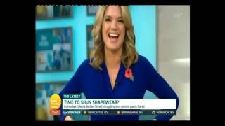 Kate Garraway and Charlotte Hawking discuss their underwear