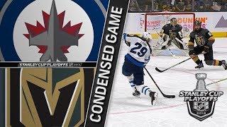 Winnipeg Jets vs Vegas Golden Knights WCF, Gm3 May 16, 2018 HIGHLIGHTS HD