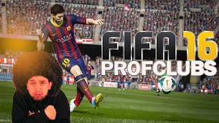 FIFA16 - Profclubs! AFROPOWER!