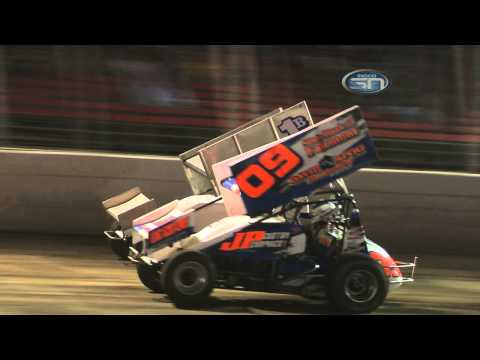 Midco Motorsports - Robby Wolfgang Wins Photo Finish at Huset's Speedway