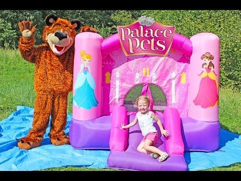 袟邪屑芯泻 袩褉懈薪褑械褋褋褘 袛懈褋薪械褟 - 袣袥袗小小袧蝎袡 袘袗孝校孝 写谢褟 写械胁芯褔械泻 / Disney Princess Castle