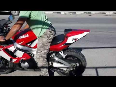 Yamaha R6 Burnout /Lastik Yakma