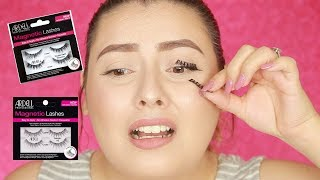 NEW Ardell MAGNETIC Lashes! WHAT?!?! - First Impressions + Demo | sheilaberemakeup♡