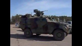 Прикордонники  протестували бронемашини «Тритон»