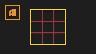 Как сделать сетку в иллюстраторе - Grid Tool | Урок Adobe Illustrator