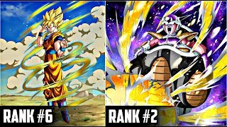 Top 10 Rarest Cards In Dokkan Battle (Part 2) | DBZ Dokkan Battle List