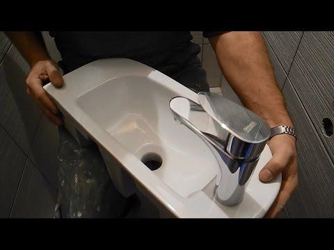 Умывальник-биде в туалете ч.1