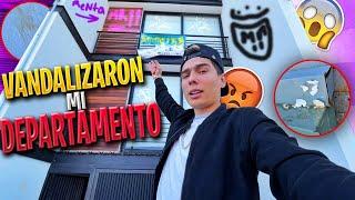 VANDALIZARON MI DEPARTAMENTO Y YA NOS QUIEREN CORRER.. | ManuelRivera11