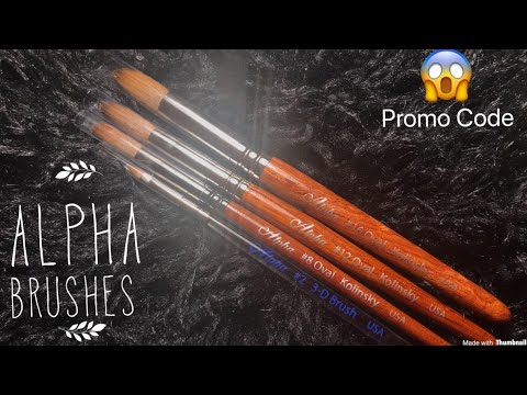 Alpha Brushes Review | Promo Code 😱