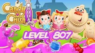 Candy Crush Soda Saga Level 807