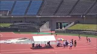 少年男子A(高2・3)400m予選2組目、淺利玖朗人(幡多農)51秒08 ~国民体育大会 高知県選考会~