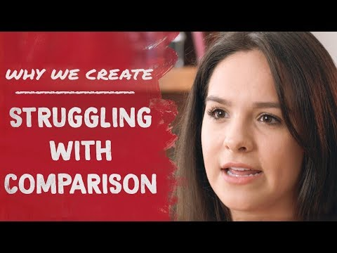 Viva Valdez: Struggling with Comparison | Why We Create