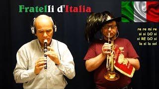 2 Giugno FESTA DELLA REPUBBLICA - Inno d'Italia (Con Spartito e BASE a metà)
