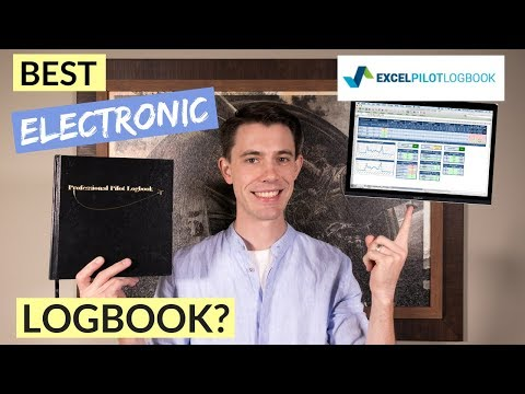 Electronic Pilot Logbook - Excel Pilot Logbook Review