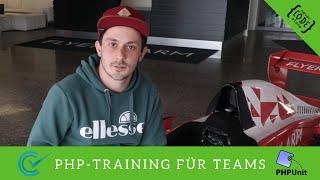 PHP-Training mit PHPUnit und der Funktastatur bei Flyeralarm mit dem Codeception Framework