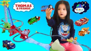 Thomas & Friends Track Master Sky-High Bridge Jump Playset Toy Trains for Kids Evren ToysReview