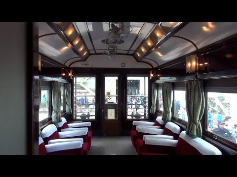 戦前製一等展望車 マイテ49 2 網干総合車両所公開 車内探訪 - YouTube
