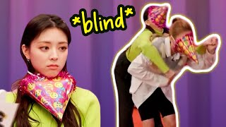 ITZY going «BLIND» in a word guessing game