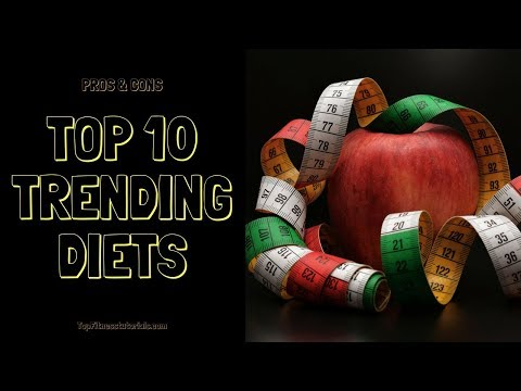 List of The Top 10 Trending Diets with Pros & Cons of each Diets