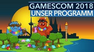 gamescom 2018 - #GCMAX vom 21. bis 25.8. - Unser Live-Programm zur Spielemesse