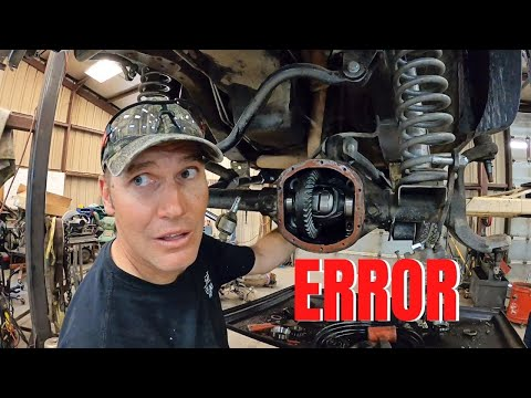 HOW TO install a locker on a JEEP with the WRONG PARTS!!