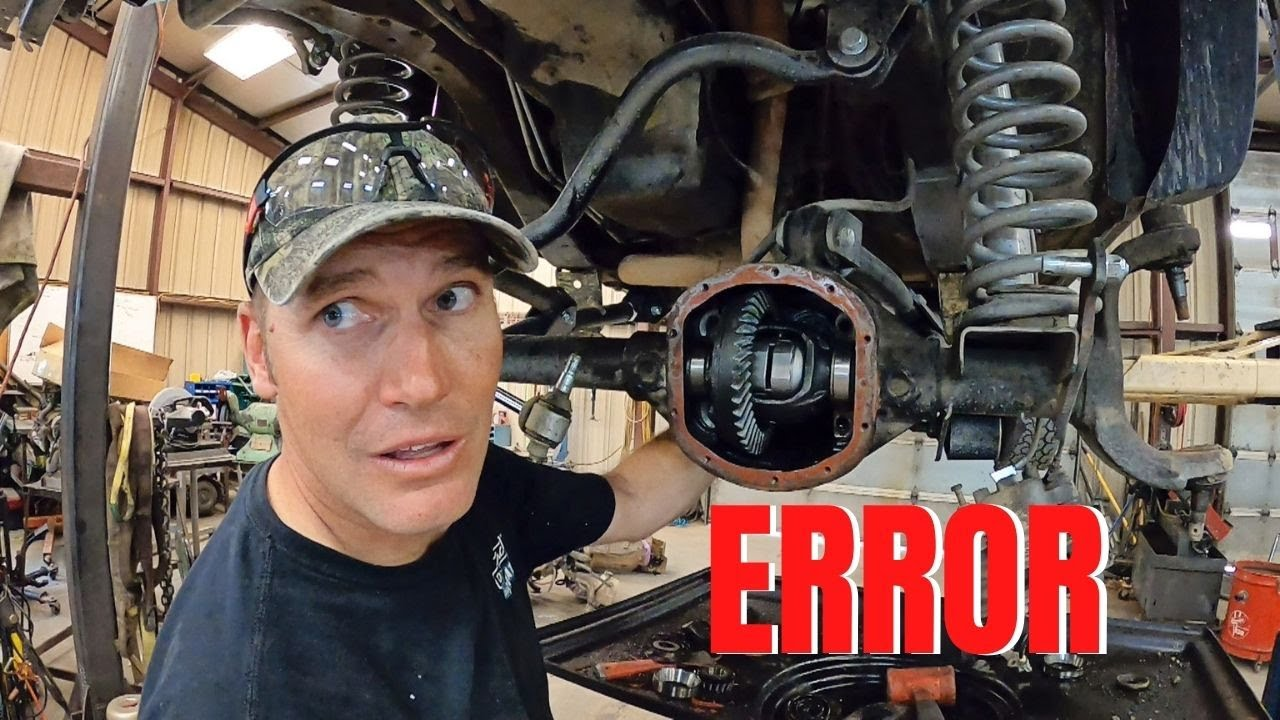 HOW TO install a locker on a JEEP with the WRONG PARTS!! Gary's Jeep Pt.2