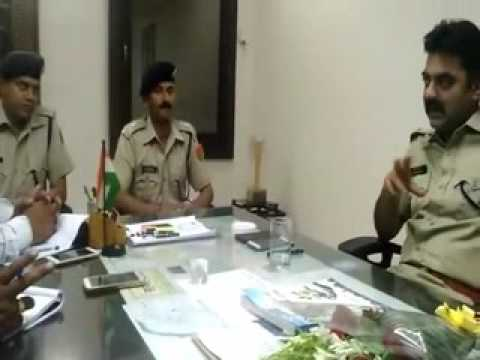 Interview of Anshuman Bhomia Superintendent of Police at Kota