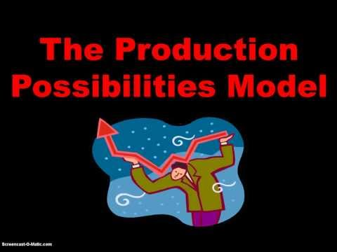 Unit 1 Topic 2: The Production Possibilities Model