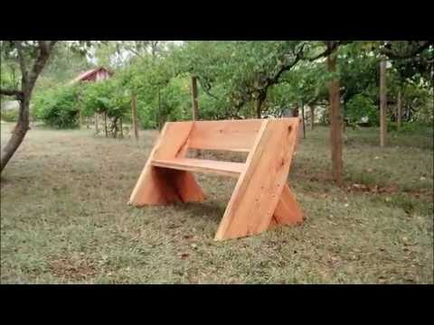 Heavy Oak Leopold Benches