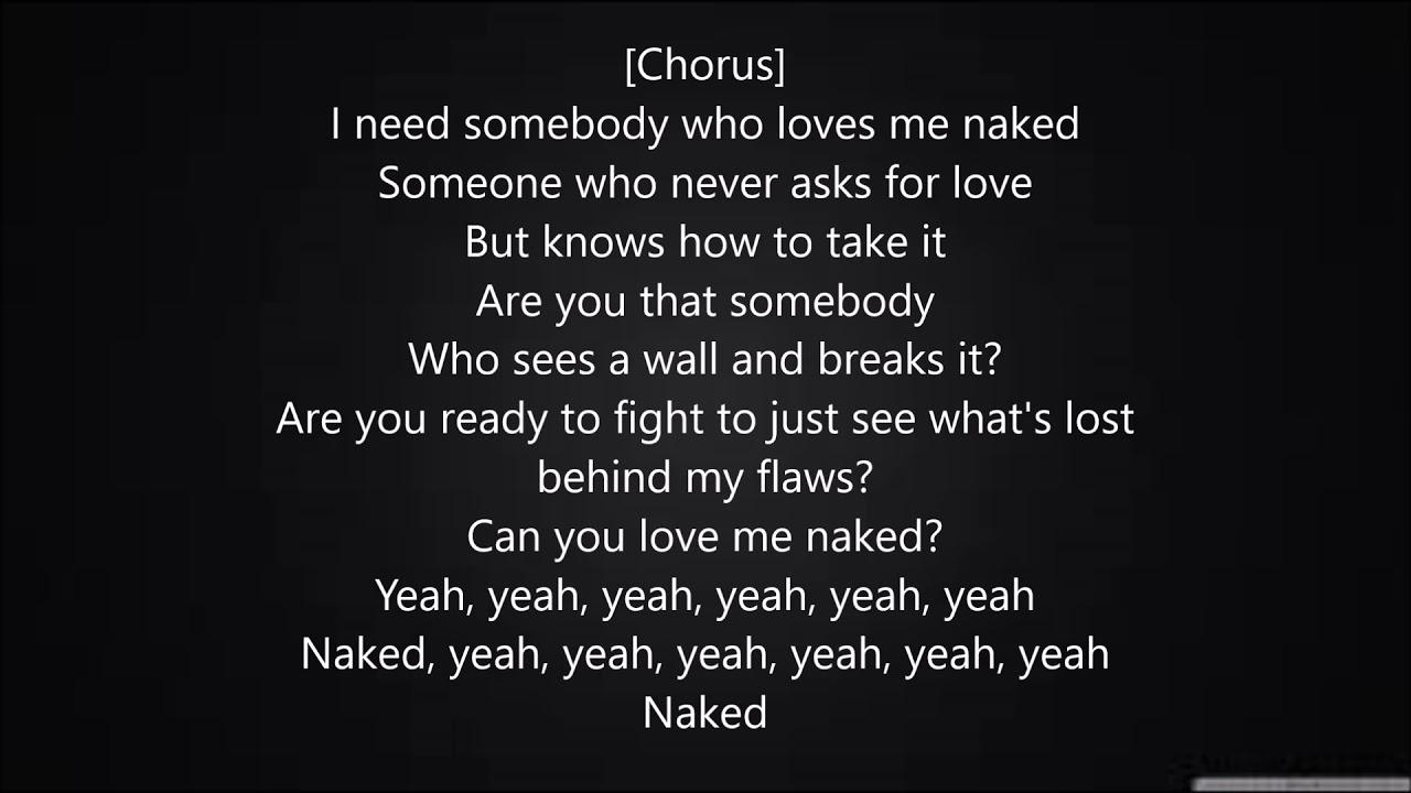 Ella Mai Naked Lyrics Youtube