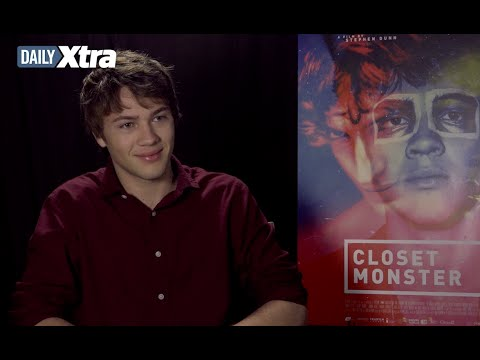 What drew Connor Jessup to Closet Monster's coming out story